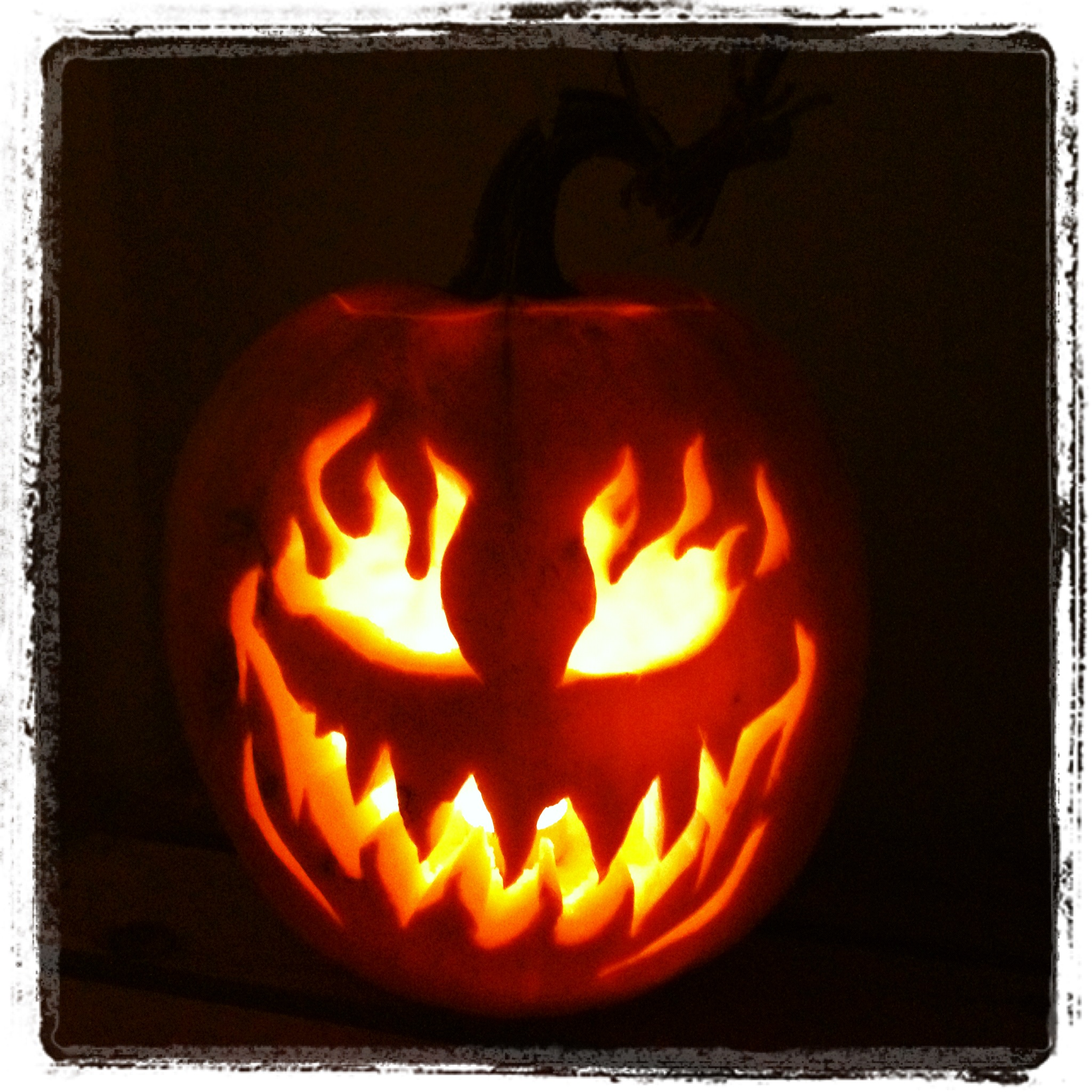 halloween jack o lantern display by wm readers wired momma