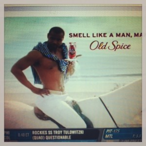 Let's bring this guy back, shall we, Old Spice?