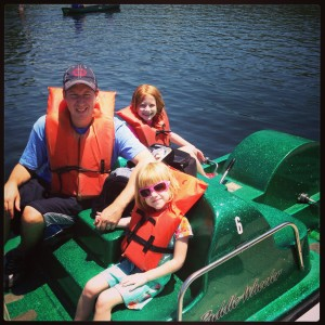Paddle-boating ready at Cunningham Falls State Park
