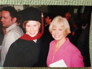 Me and my mom at my graduation from Northwestern. Dec 2003